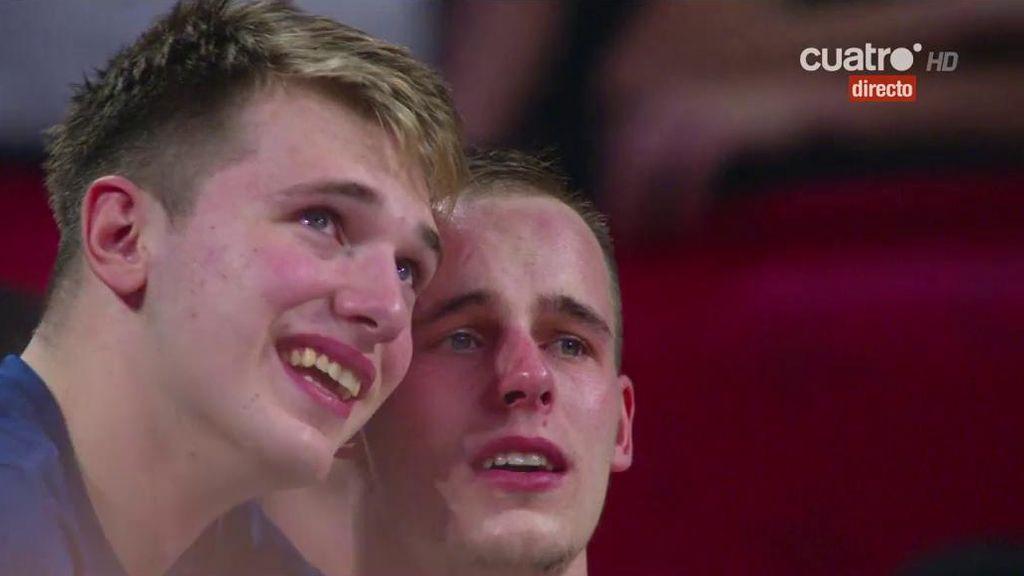 ¡Máxima emoción! Las lágrimas de Doncic tras proclamarse campeón de Europa