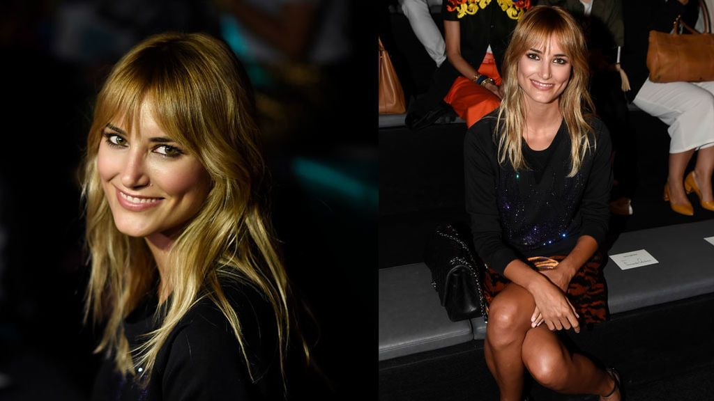 Alba Carrillo en el 'front row' de la Fashion Week Madrid