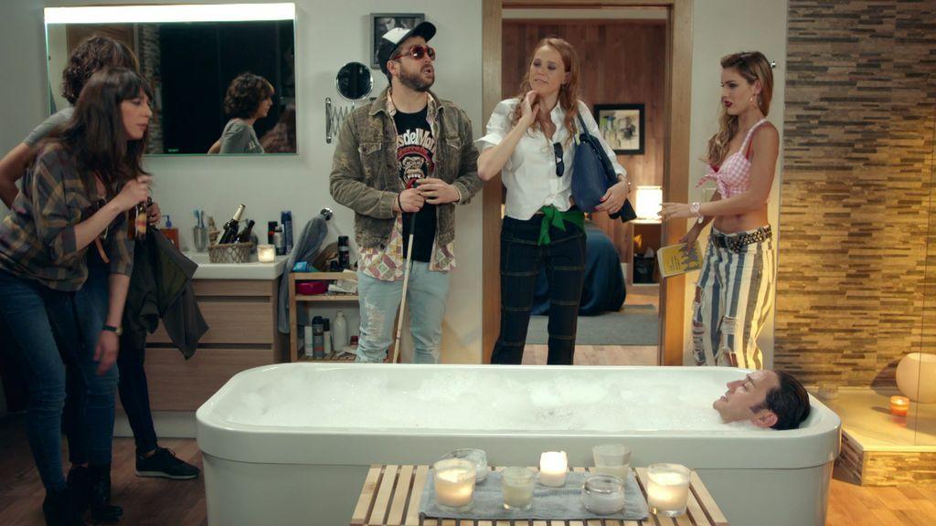 ¡'Comando Mojito' en acción! Sara intenta pillar a Sergio y a Cloe juntos y la lía
