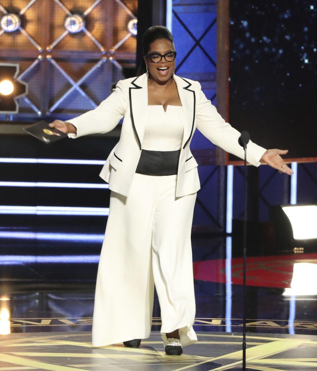 Oprah Winfrey presentó el premio a mejor serie de drama