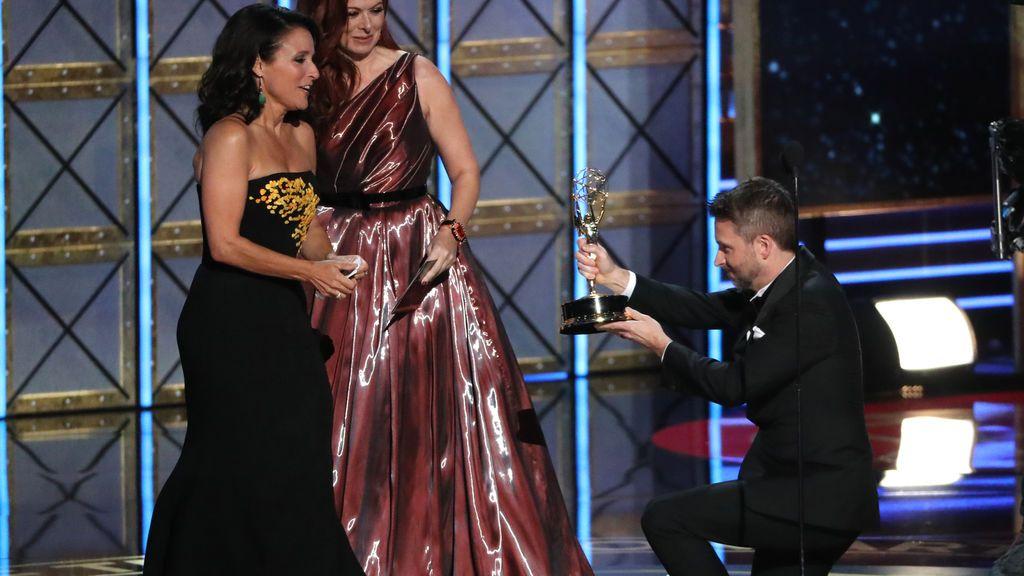 Julia Louis-Dreyfus se hizo con el premio a mejor actriz de comedia por 'Veep'
