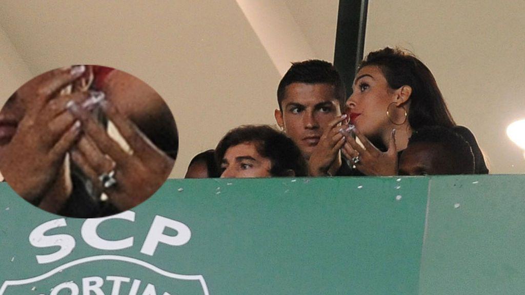Cristiano Ronaldo y Georgina, ¿comprometidos? El anillo del que todo el mundo habla