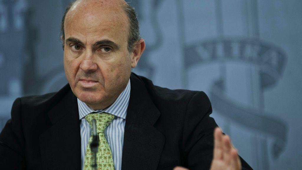"""De Guindos: """"El empobrecimiento de la sociedad catalana sería brutal"""""""