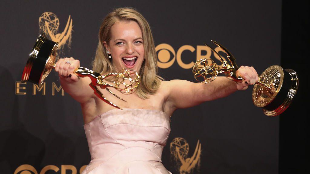 Elisabeth Moss, una de las principales ganadoras en la 69º edición de los Premios Emmy