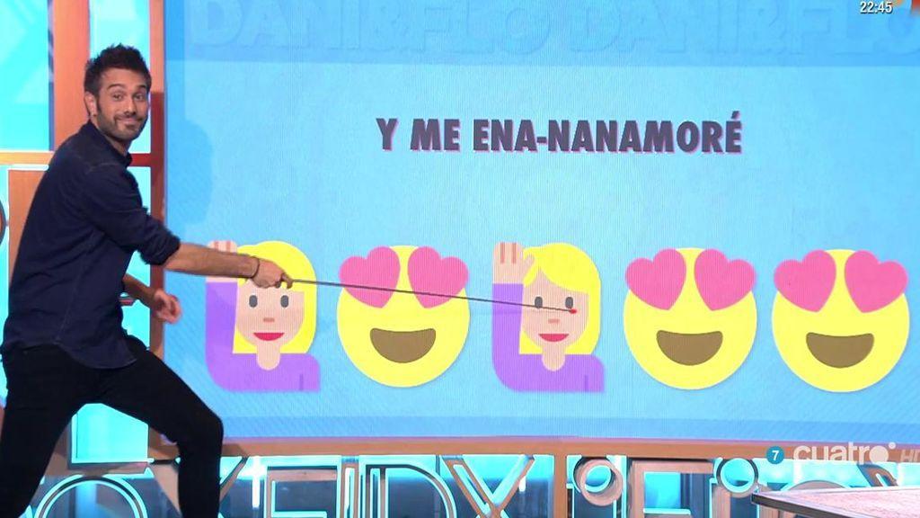 Dani Martínez presenta la versión de 'Me enamoré' de Shakira ¡en Emojis! 🙋😍