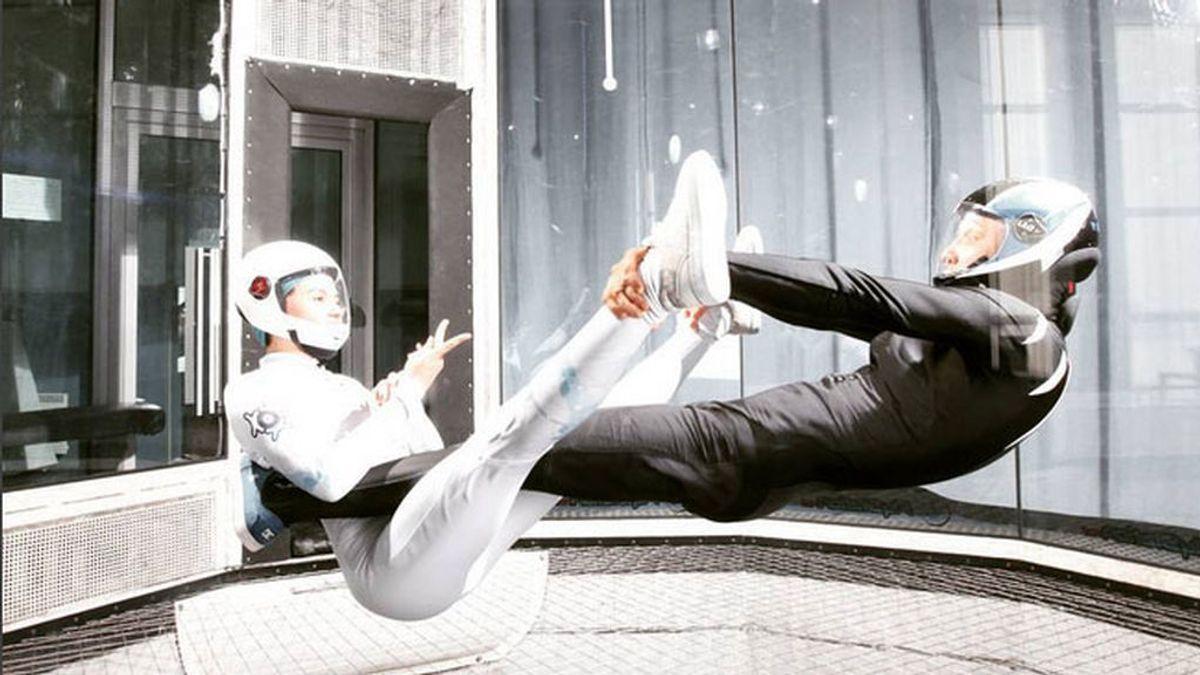 Maja Kuczynska tiene 17 años, sabe volar y es una 'crack' mundial de este deporte alucinante