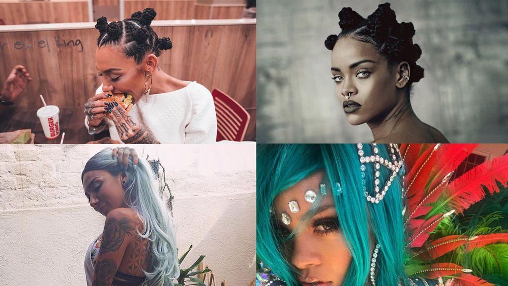 Los 8 cambios de 'looks' de Paula de 'GH 15' que nos recuerdan a Rihanna