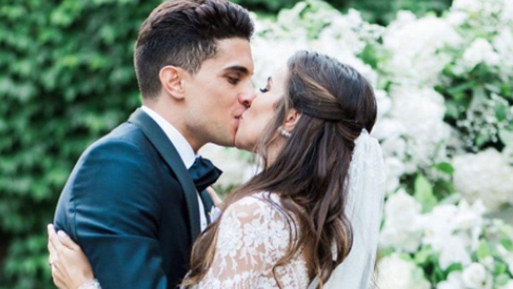 La foto más tierna de la boda de Marc Bartra y Melissa Jiménez por fin sale a la luz