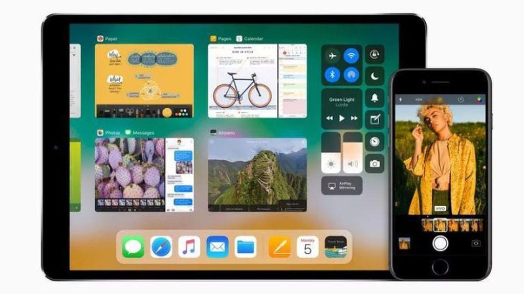 interfaz grafica iOS 11