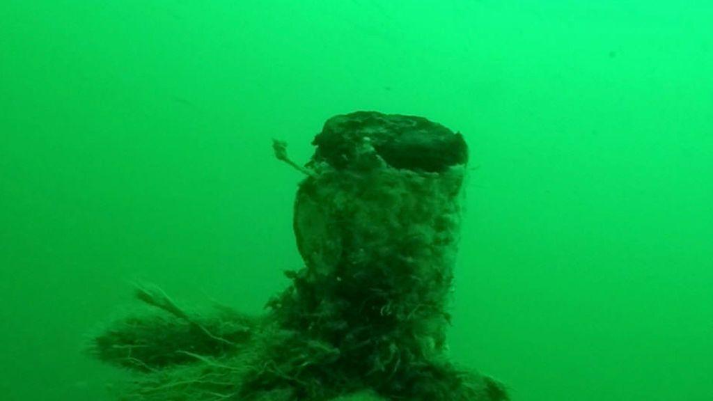 Hallado un submarino alemán de la I Guerra Mundial hundido frente a la costa belga