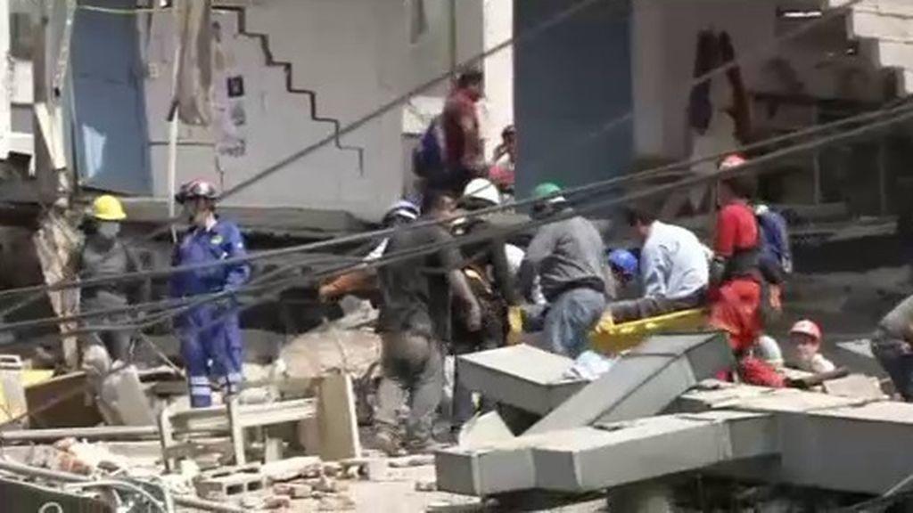 Solidaridad a raudales para ayudar a encontrar supervivientes del terremoto de México