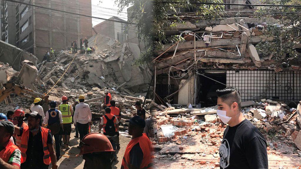 Edificios derrumbados, muertos y gente en pánico: así se ha vivido el terremoto de México en redes