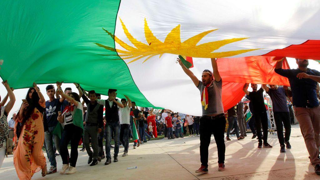 Los kurdos muestran su apoyo al próximo referéndum de independencia del 25 de septiembre