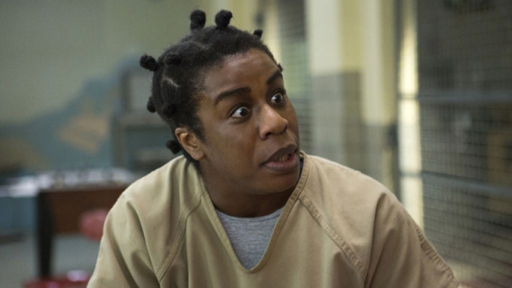 Uzo Aduba, mejor actriz secundaria por 'Orange is the new black'