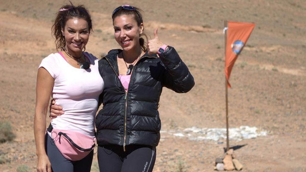 Equipo rosa. María y Romy Abradelo, actrices y presentadoras