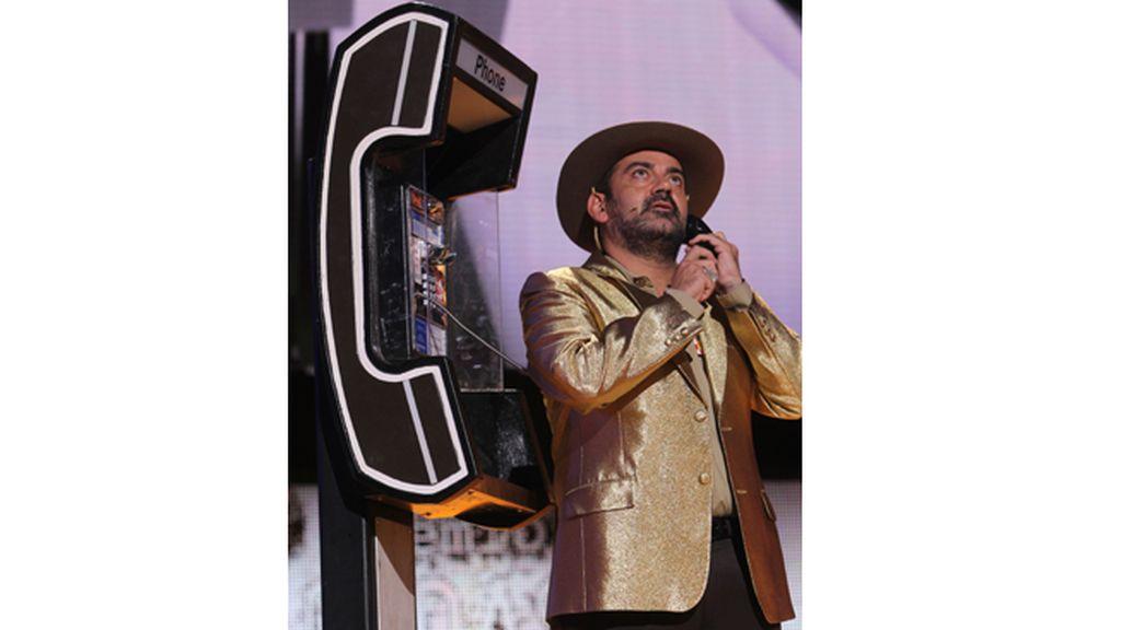 Paco León ('Aída'), Goyo Jiménez y José Corbacho pusieron una nota de humor a la gala