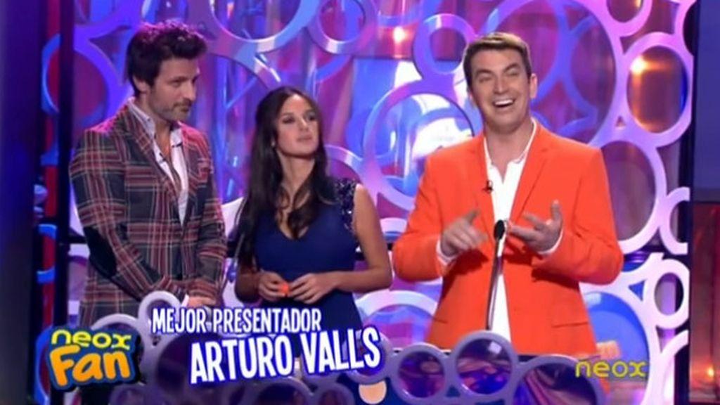 Arturo Valls (Antena 3), mejor presentador de televisión