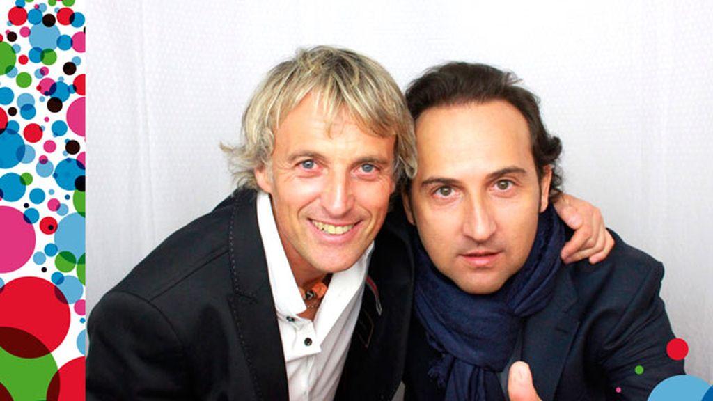 El 'selfiematón' de Jesús Calleja e Iker Jiménez