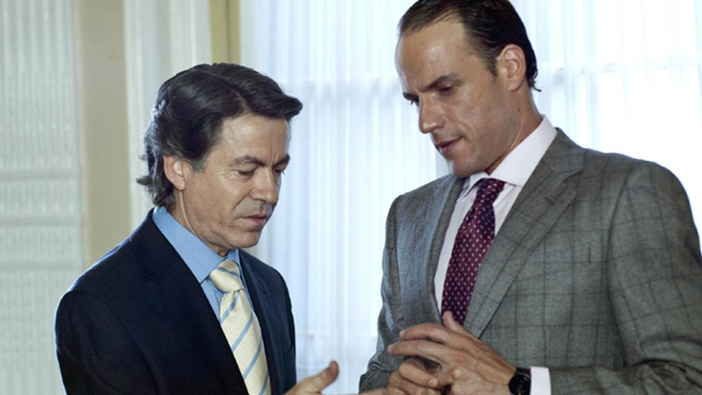 Daniel Grao interpreta al expresidente de Banesto, dos décadas después de la intervención