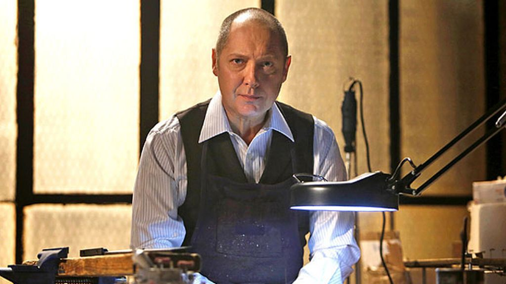 James Spader, mejor actor en serie dramática por 'The blacklist'