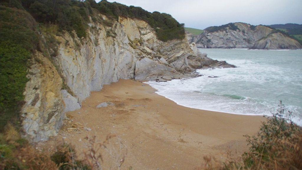 Playa de Muriola, en Barrika (Vizcaya)