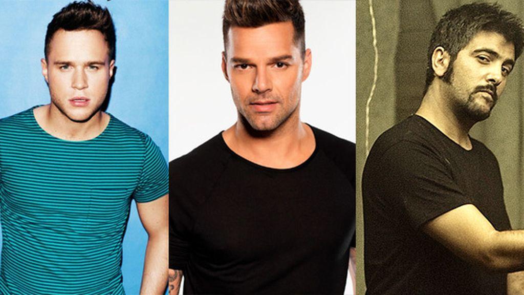Artistas confirmados en la Gala Premios 40 Principales 2013