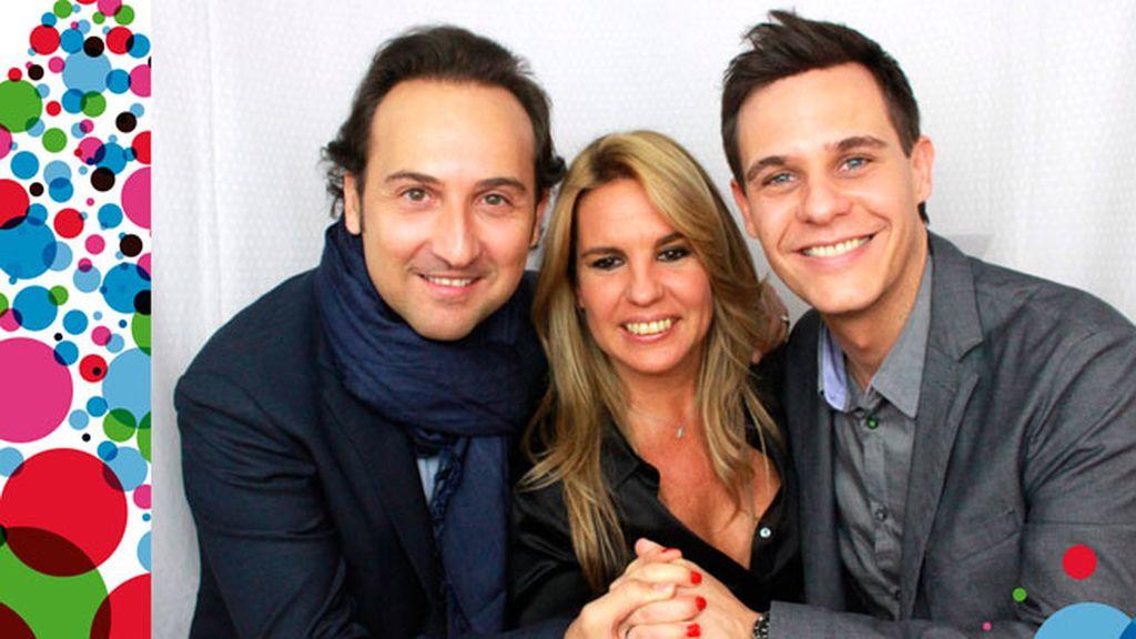 La felicitación navideña de Iker Jiménez, Carmen Porter y Christian Gálvez