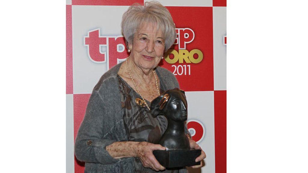 Asunción Balaguer, premio a toda la carrera