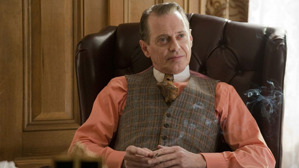 'Boardwalk Empire' (Canal+, La Sexta), mejor drama y mejor actor de drama (Steve Buscemi)