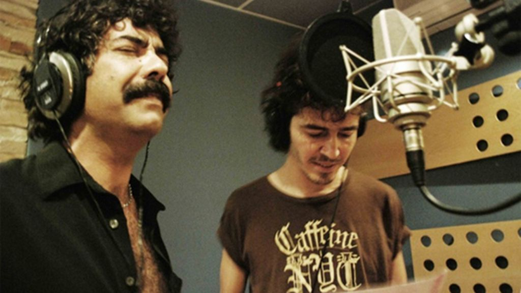 Actores que cantan a dúo por el Sáhara