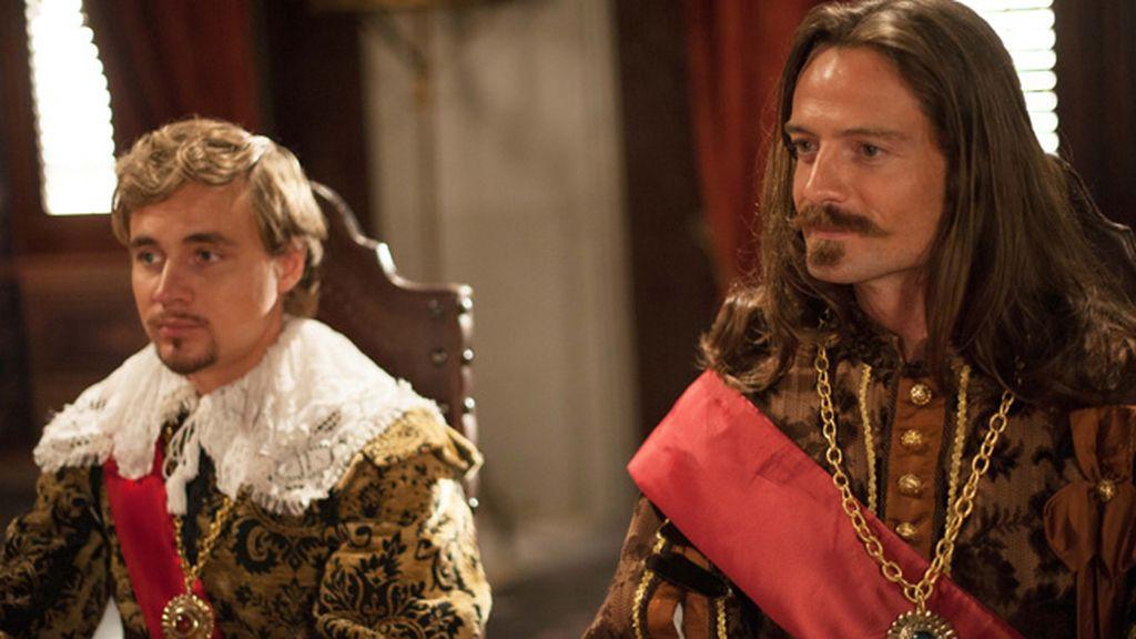 Príncipe de Gales (Constantin von Jascheroff) y Duque de Buckingham (William Miller)