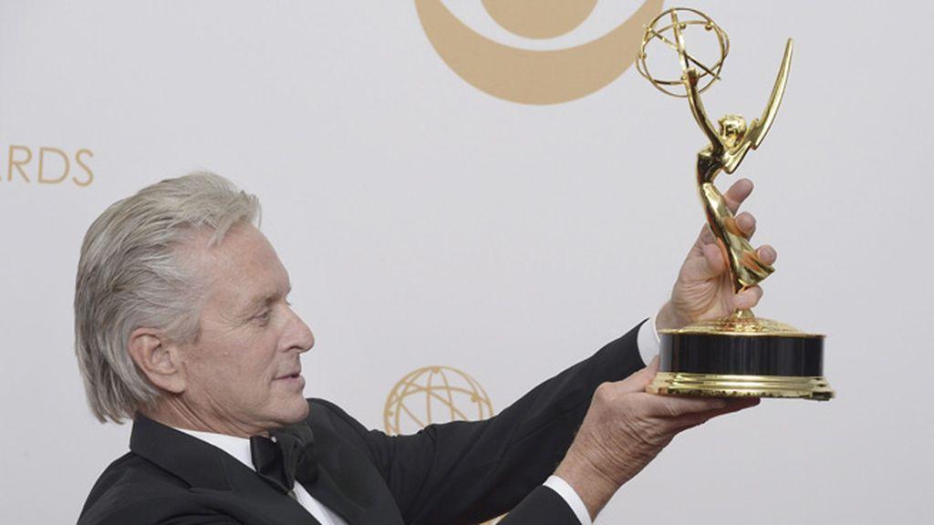 Michael Douglas, mejor actor de drama por 'Behind The Candelabra'