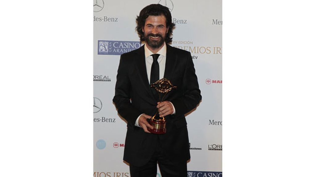 Rodolfo Sancho, mejor actor por 'Isabel' (La 1)