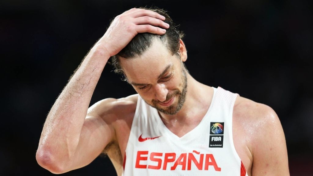 Pau Gasol, jugador de la selección española de baloncesto, durante el Eurobasket 2017 que emite Cuatro