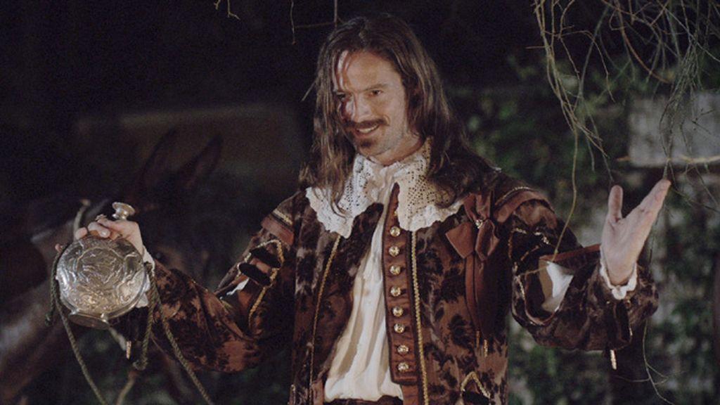 William Miller es el Duque de Buckingham