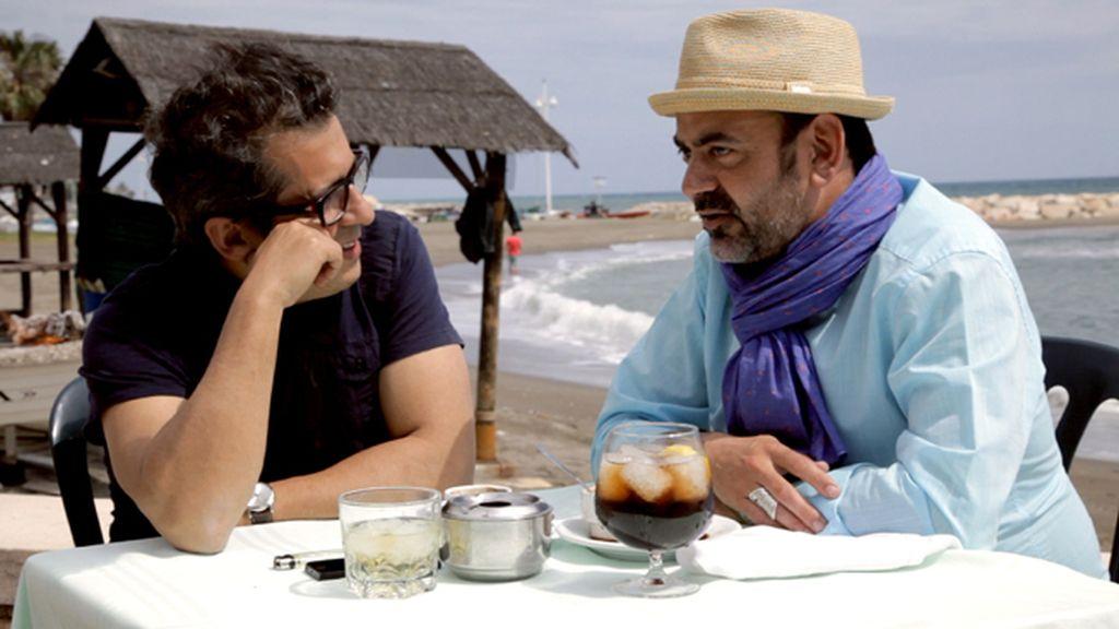 Andreu Buenafuente con José Corbacho