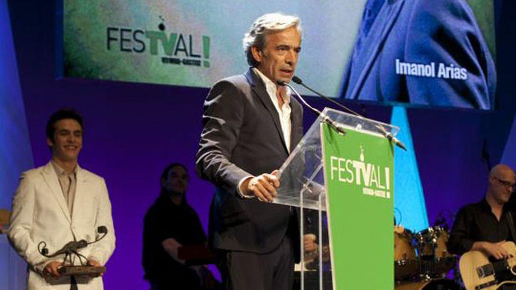Imanol Arias, premio Joan Ramón Mainat y programa más interesante por 'Un país para comérselo' (La 1)