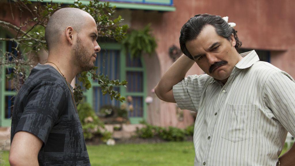 Pablo Escobar (Wagner Moura) en la serie de Netflix 'Narcos'