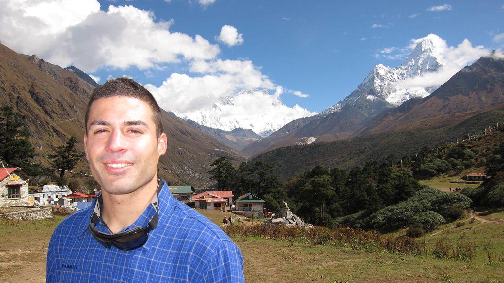 Pablo García (Equipo azul). 24 años. Valencia. Halconero