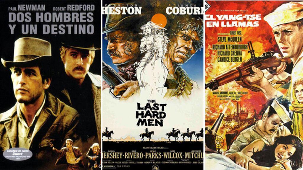 Cine bélico, western, de acción y aventuras en el canal masculino de Mediaset