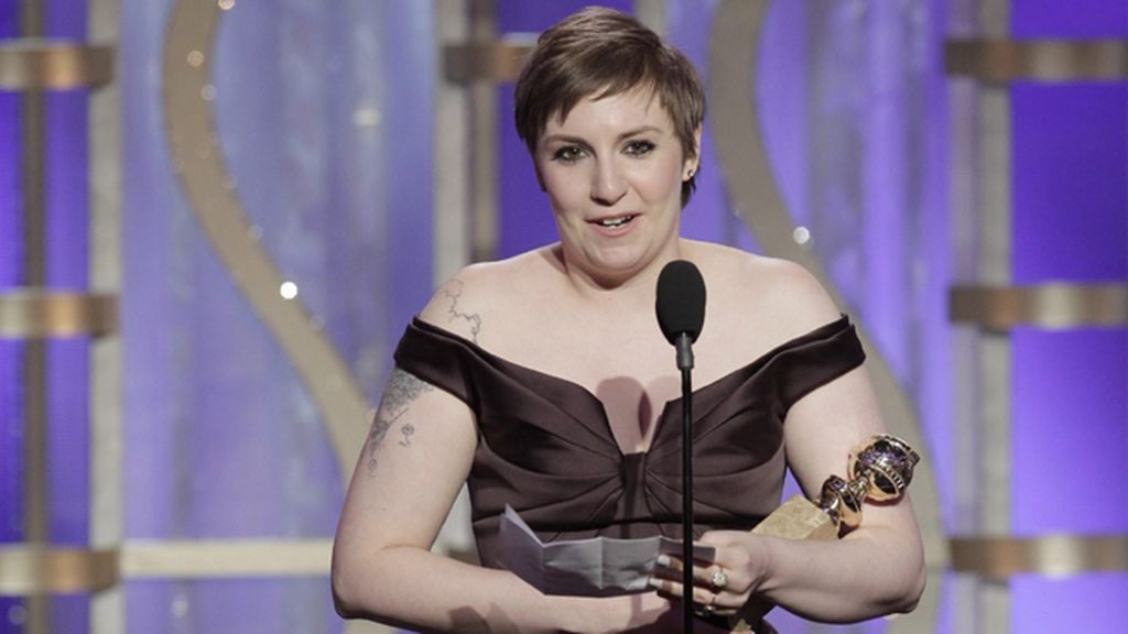 Lena Dunham, por 'Girls' (Canal+ 1), mejor actriz de musical o media