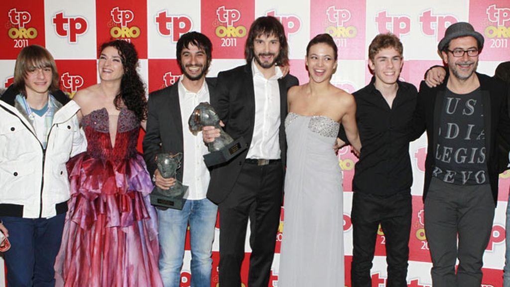 'Águila roja' (La 1), mejor serie española