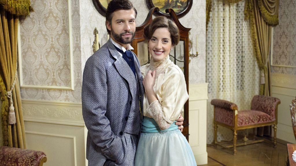 Felipe (Marc Parejo) y Celia (Inés Aldea), los Álvarez-Hermoso