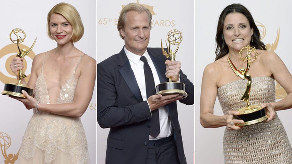 Jeff Daniels, sorpresa de la noche, recoge el reconocimiento a mejor actor por 'The Newsroom'