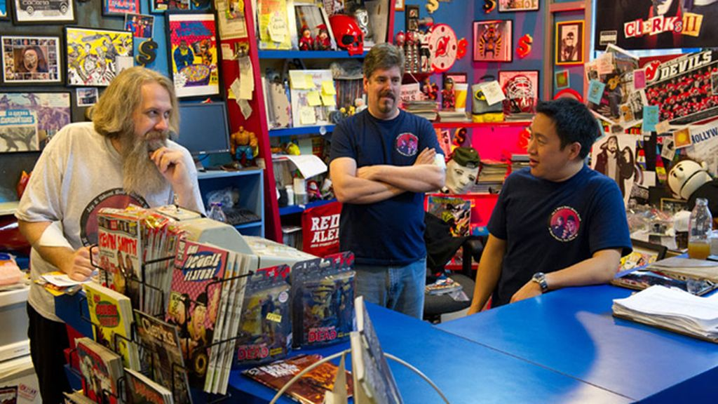 'Comic book men'