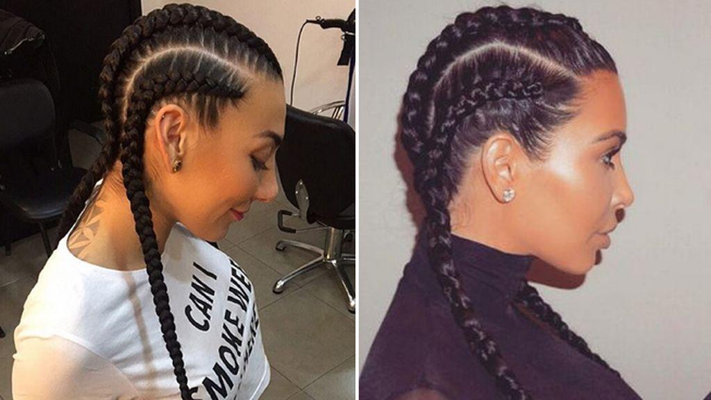 Las 'boxer braids'