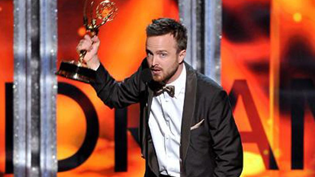 Aaron Paul, mejor actor de reparto de drama por 'Breaking bad' (AMC)