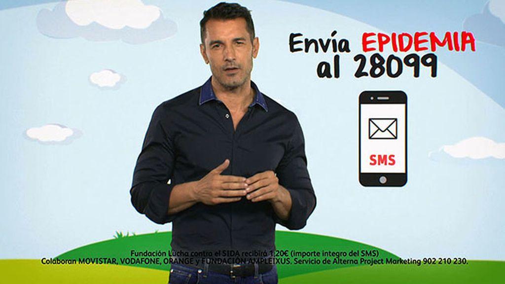 Jesús Vázquez es el embajador de esta campaña