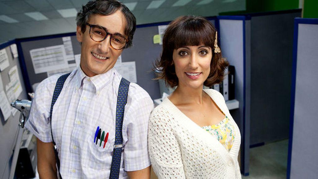 David Fernández es @Frikiloco y Ana Morgade es @Beibe81