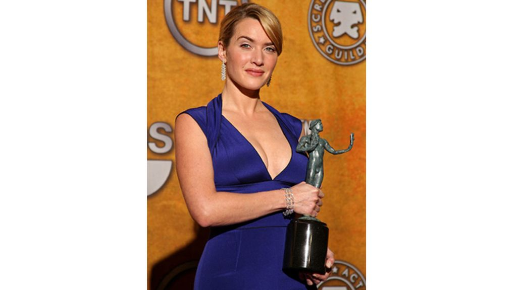 Kate Winslet, mejor actriz de miniserie por 'Mildred Pierce'